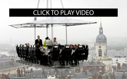 Dinner In The Sky Vaasa Festival - Dinner in the sky an unforgettable experience