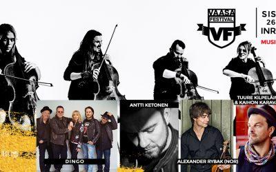 Leningrad Cowboysin laulaja Apocalyptican vokalistiksi kesän Vaasa Festival -keikalle!