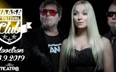 Vaasa Festival Club kausi käynnistyy nyt perjantaina!