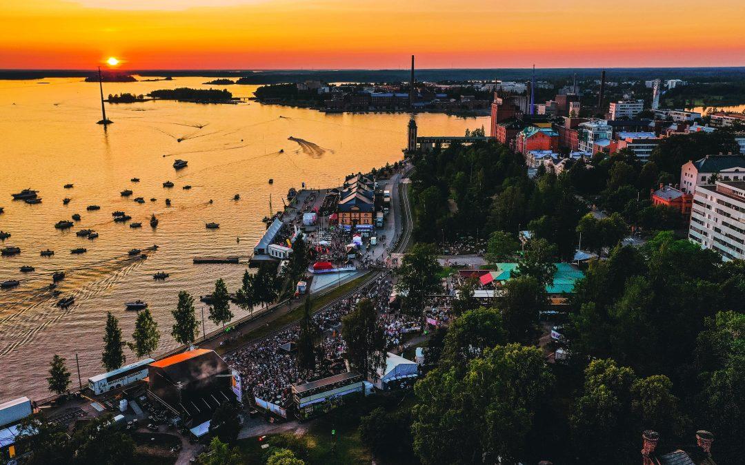 Vaasa Festival keräsi 17 000 juhlijaa Sisäsatamaan