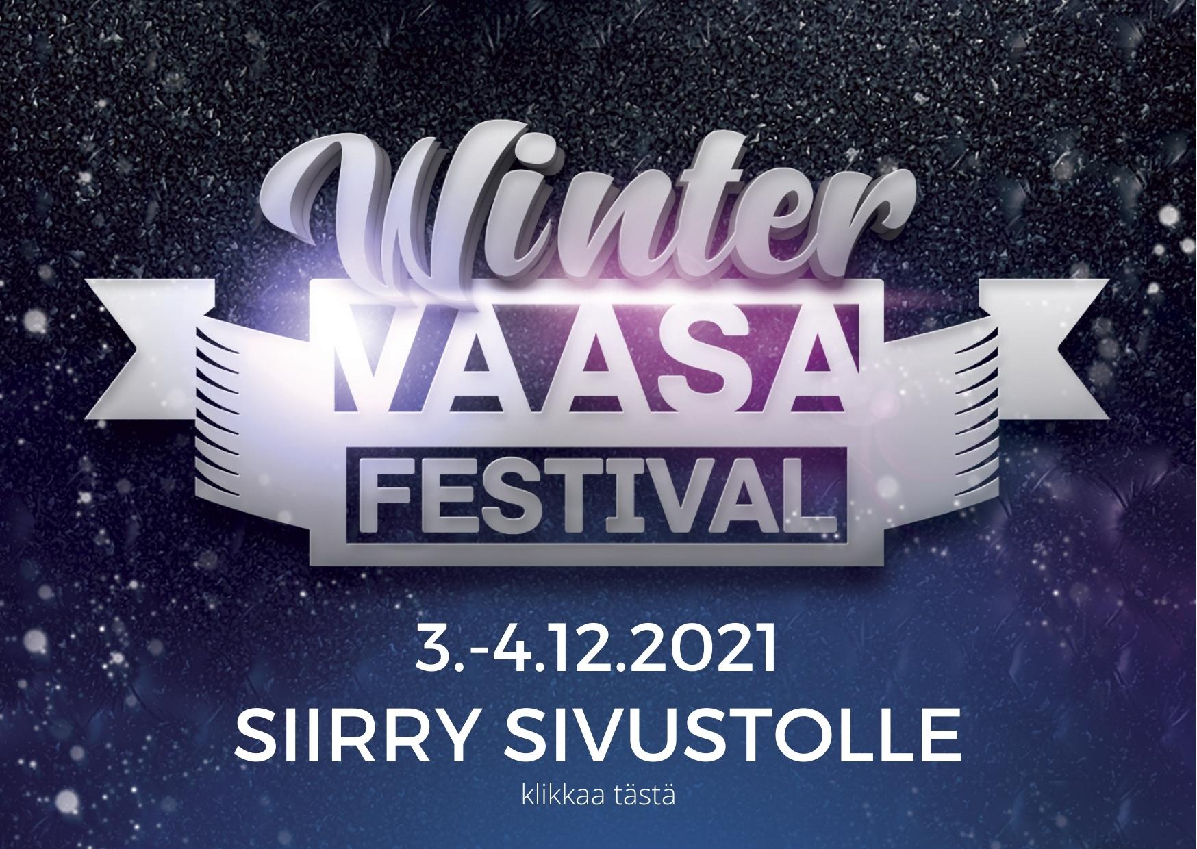 Winter Vaasa Festival - siirry sivustolle